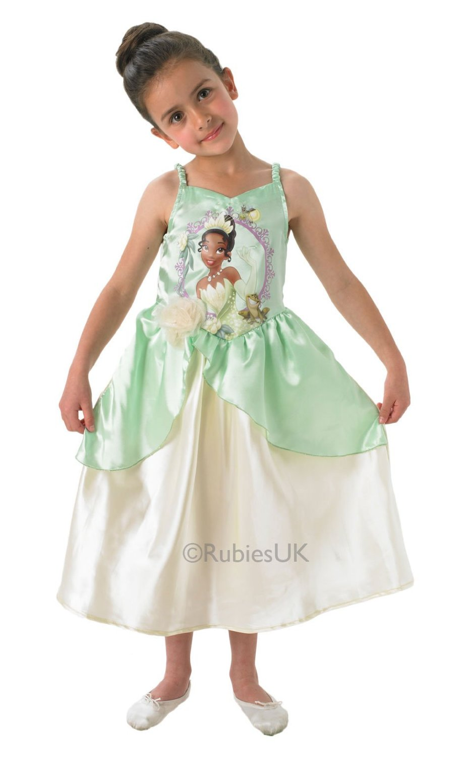 Disney Princess Tiana Storytime Kids Costume Movie Fancy