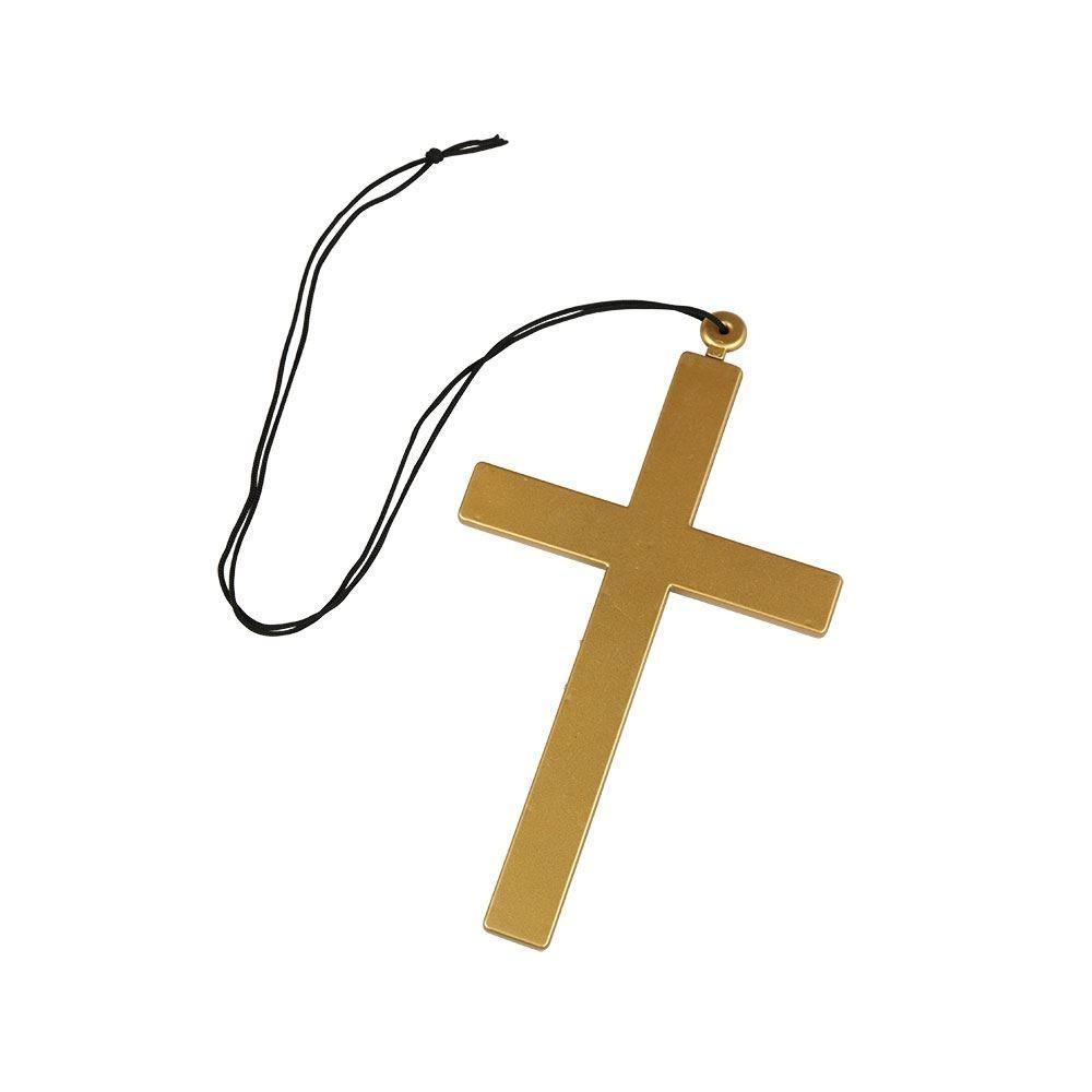 Priest / Nun Cross One Size Adult Fancy Dress Accessory
