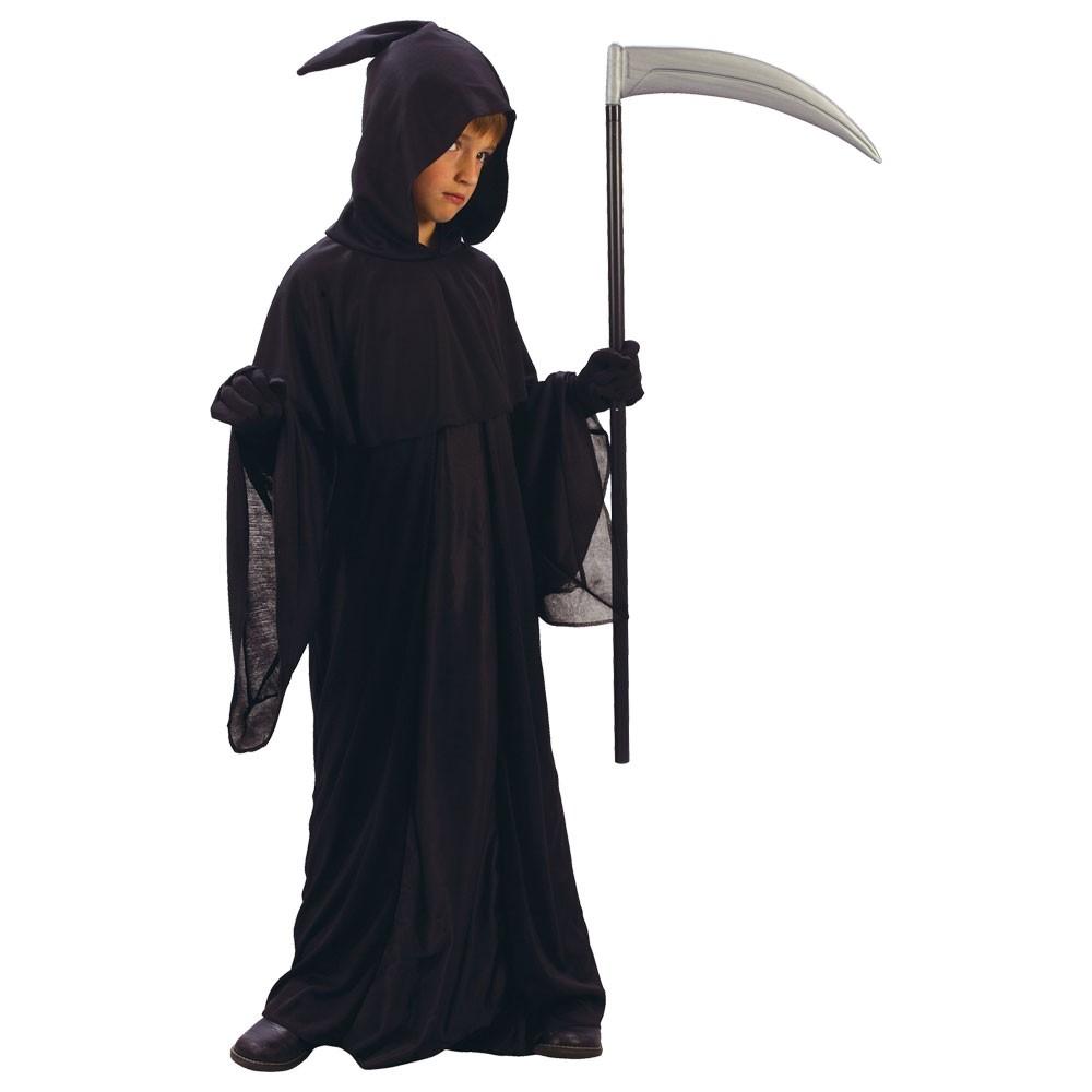 Grim Reaper Halloween Boys Fancy Dress Costume