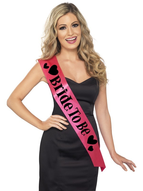 Bride To Be Sash Fancy Dress Woman Costume