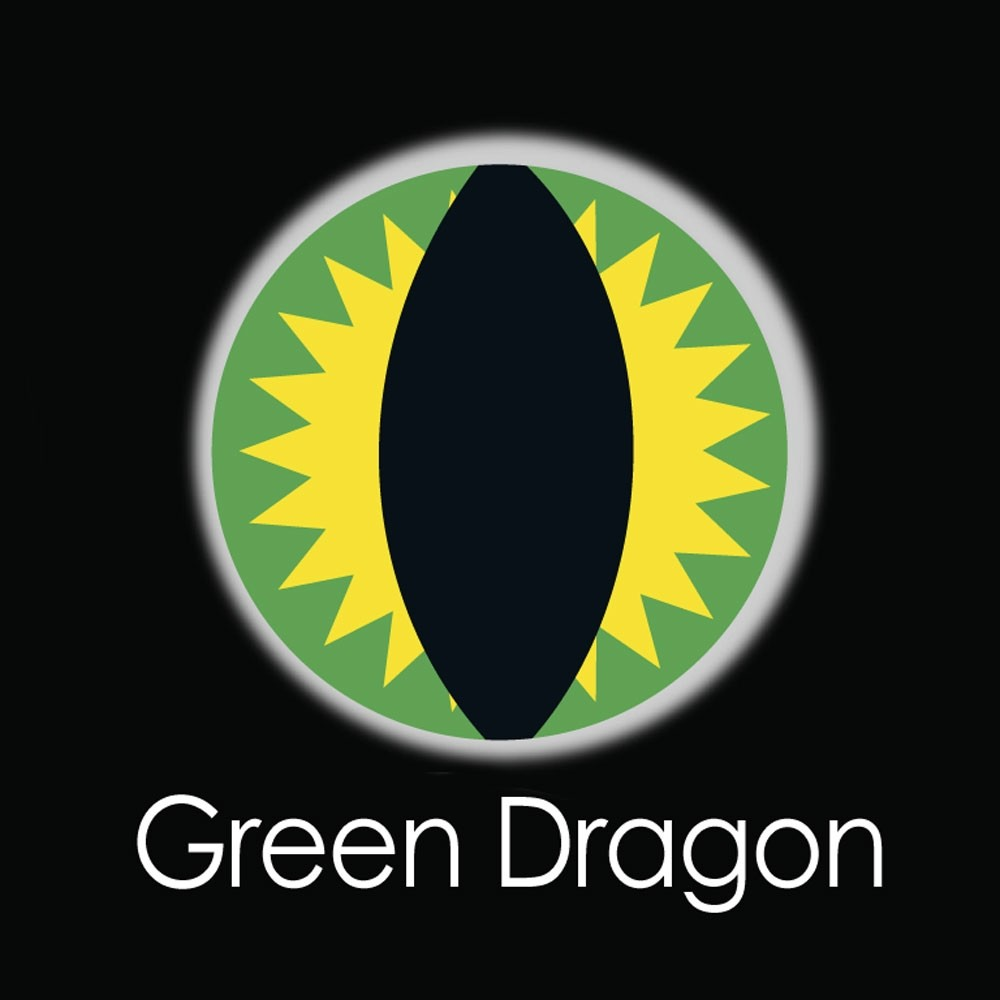 XtremeEyez - One Day - GREEN DRAGON Contact lenses
