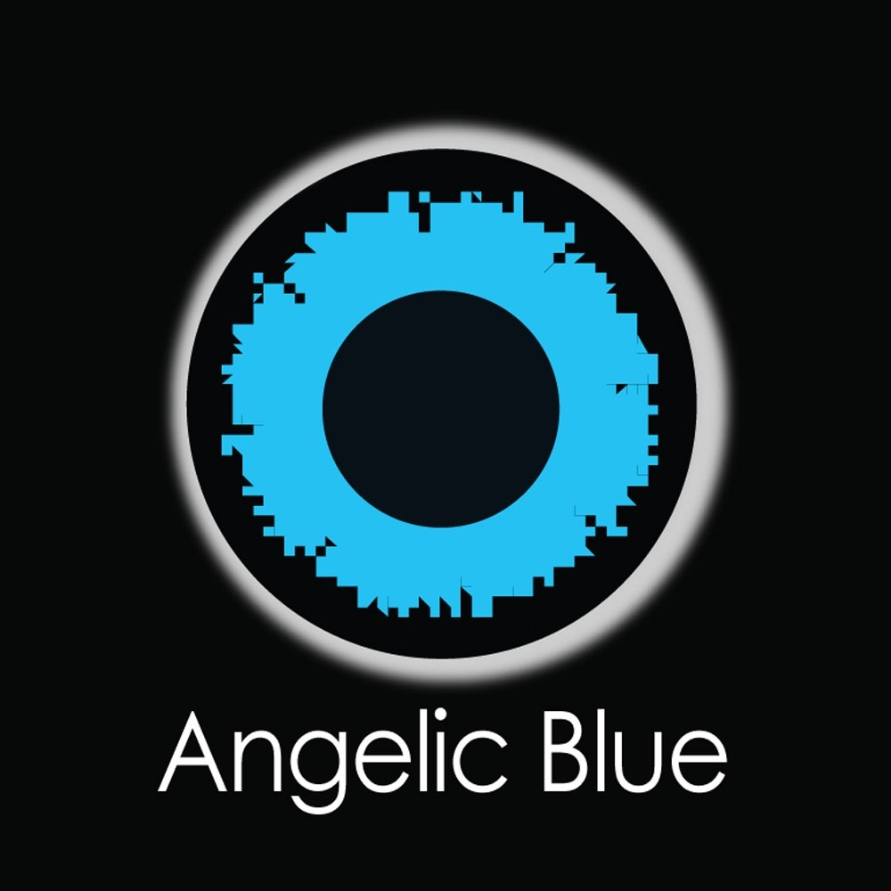 XtremeEyez - One Day - ANGELIC BLUE Contact Lenses