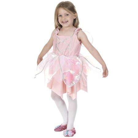 Deluxe Pink Ballerina Fairy Princess costume for girls Fancy Dress