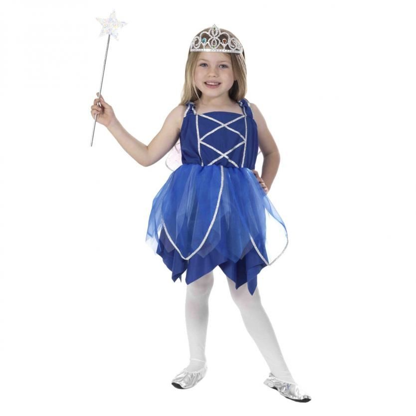 Snowflake Ice fairy fancy dress Costume Xmas Christmas Girls