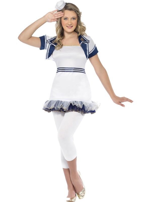 Miss Sailor Costume Woman Fancy Dress