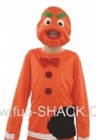 Scary Ginger Bread Doll Halloween Boy Costume