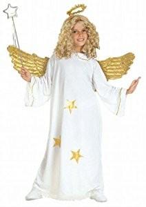 Children's Star Angel Child 140cm Costume for Christmas Panto Nativity Fancy Dress