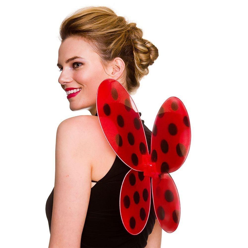 Ladybird Wings One Size Adult Fancy Dress Accessory
