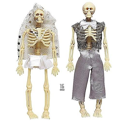 SKELETON COUPLE - BRIDE GROOM