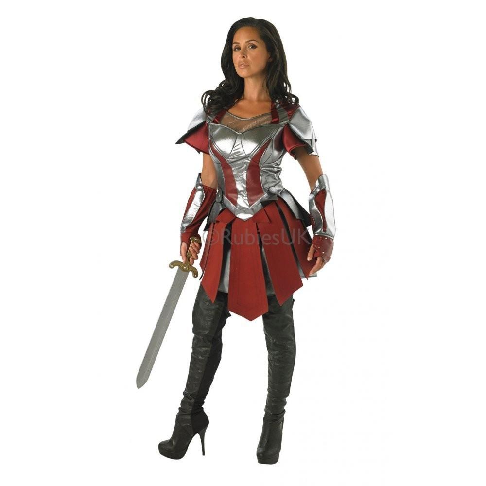 AVENGERS Sif Thor 2 Adult Costume Women Marvel Fancy Dress