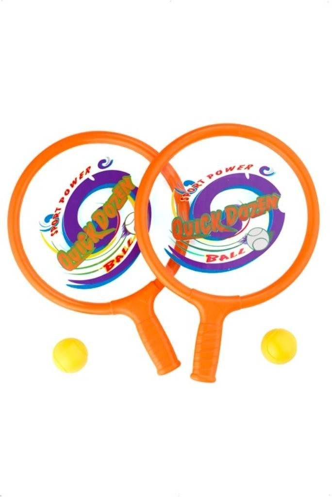 Smiffys Rackets and Ball Set Fancy Dress Accessory