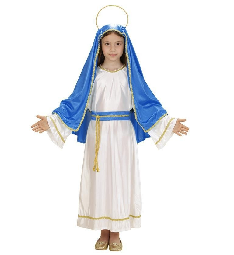 Holy Mary 140cm Girls 8 - 10 years Childrens Fancy Dress Costume