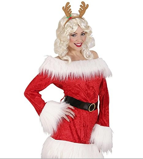 Reindeer Horns Accessory for Christmas Panto Nativity Fancy Dress