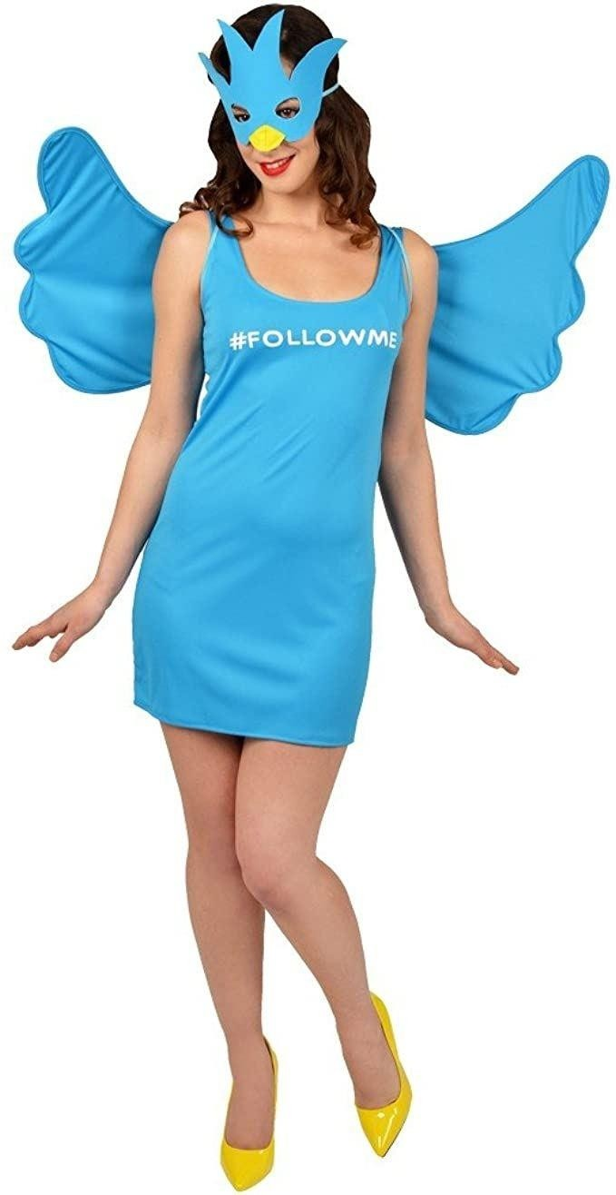 Morphsuits Personalisable Social Media Queen Small Ladies Fancy Dress Costume