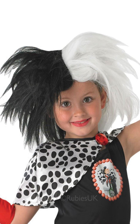 DISNEY ~ Cruella Wig - Kids Accessory from 101 Dalmatians movie