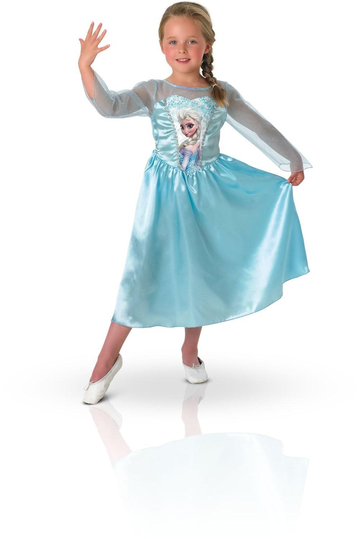 Disney Princess Classic Elsa Costume Frozen Movie Fancy ...