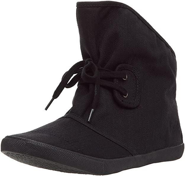 "Blowfish Harper Fabric Black Denim UK 6"" Women's Boots"