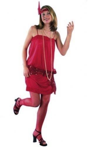 Flapper Glamour Set Small/Medium Adult Ladies Fancy Dress Costume