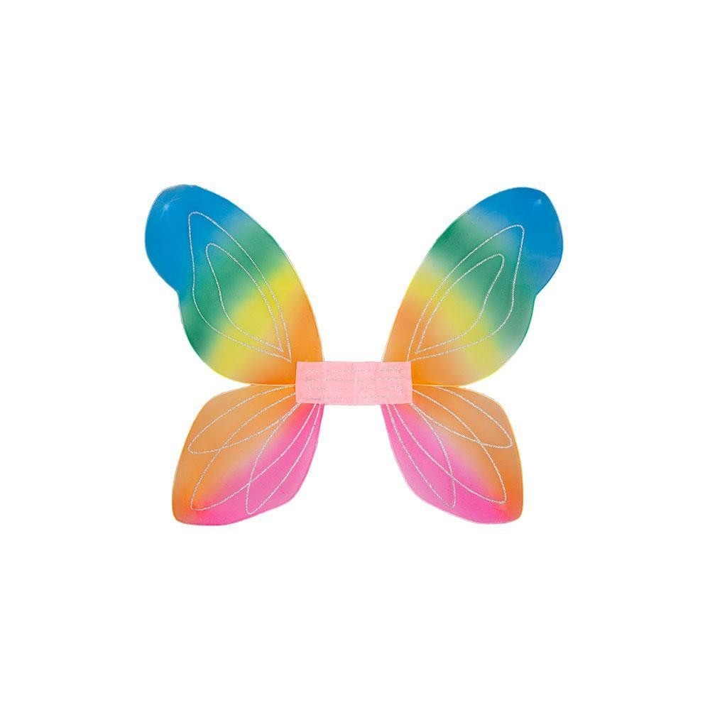 Fantasy Wings Rainbow One Size Adult Fancy Dress Accessory