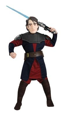 Deluxe Anakin Skywalker Costume with Lightsaber and Mask Star Wars Maovie