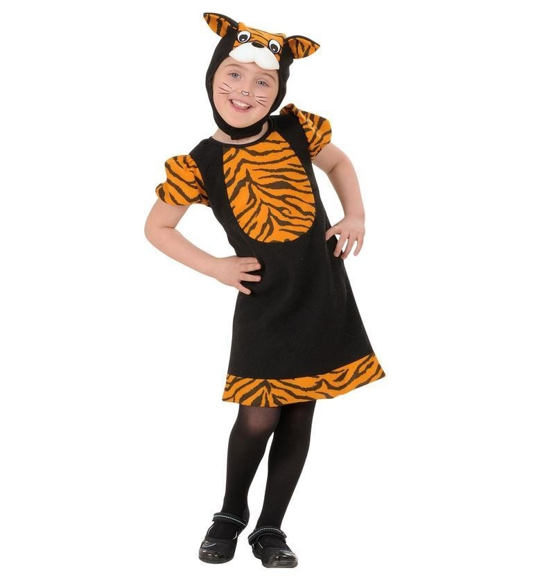 Tiger Animal Jungle Kids 3 - 4 years Fancy Dress Costume