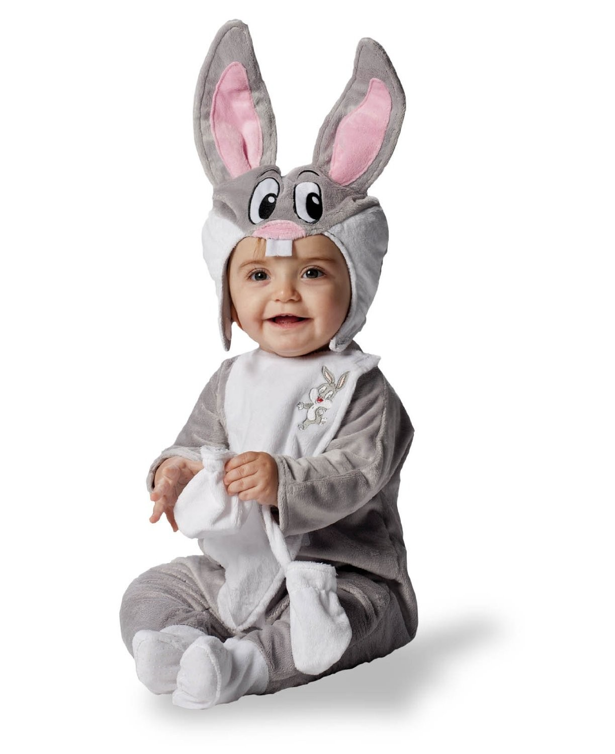 Official Deluxe Looney Tunes Bugs Bunny Rabbit Fancy Dress 18/36 Month