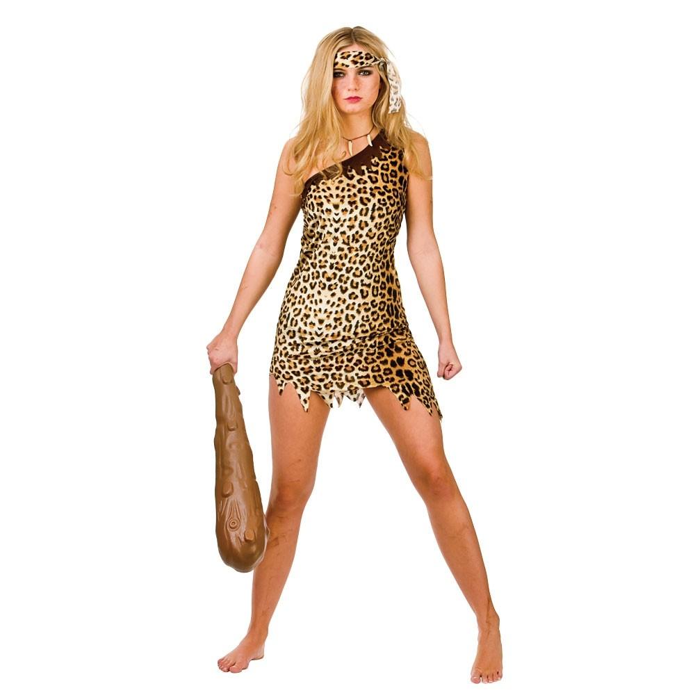 Cute Cavegirl Sexy Costume Woman Fancy Dress