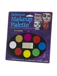 Halloween Makeup Tray 8 Colours Horror Make up Accessory