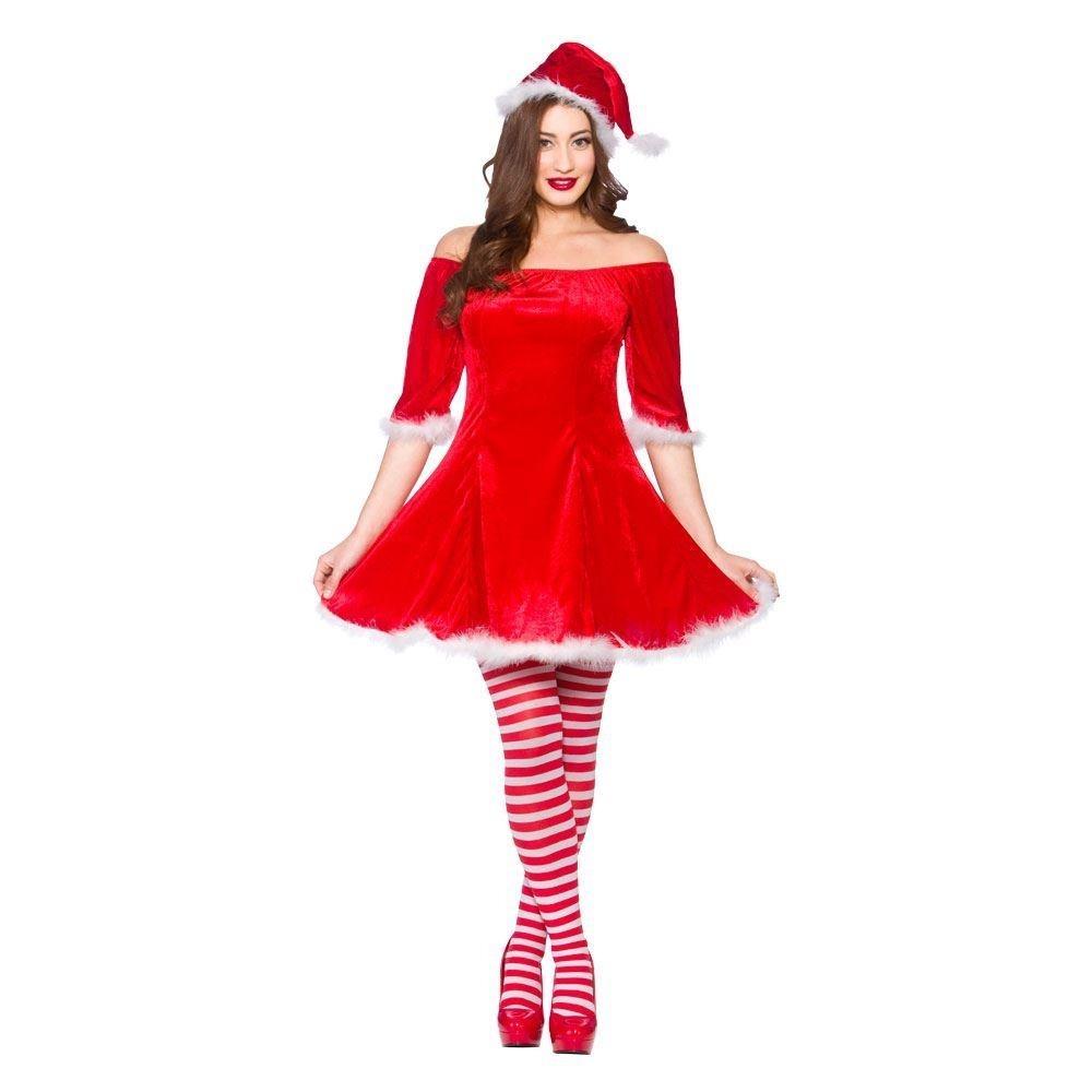 Sweet Santa Small Adult Fancy Dress Costume