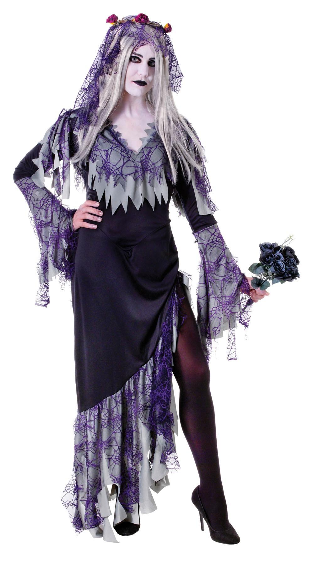 Halloween Zombie Bride  costume Adult Fancy Dress