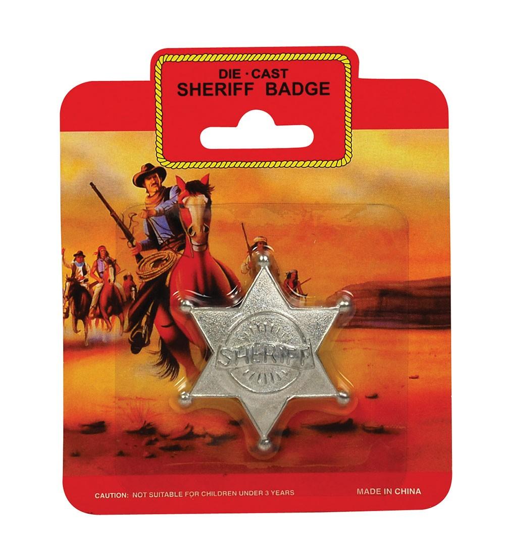 Sheriff Badge - Metal Accessory Fancy Dress