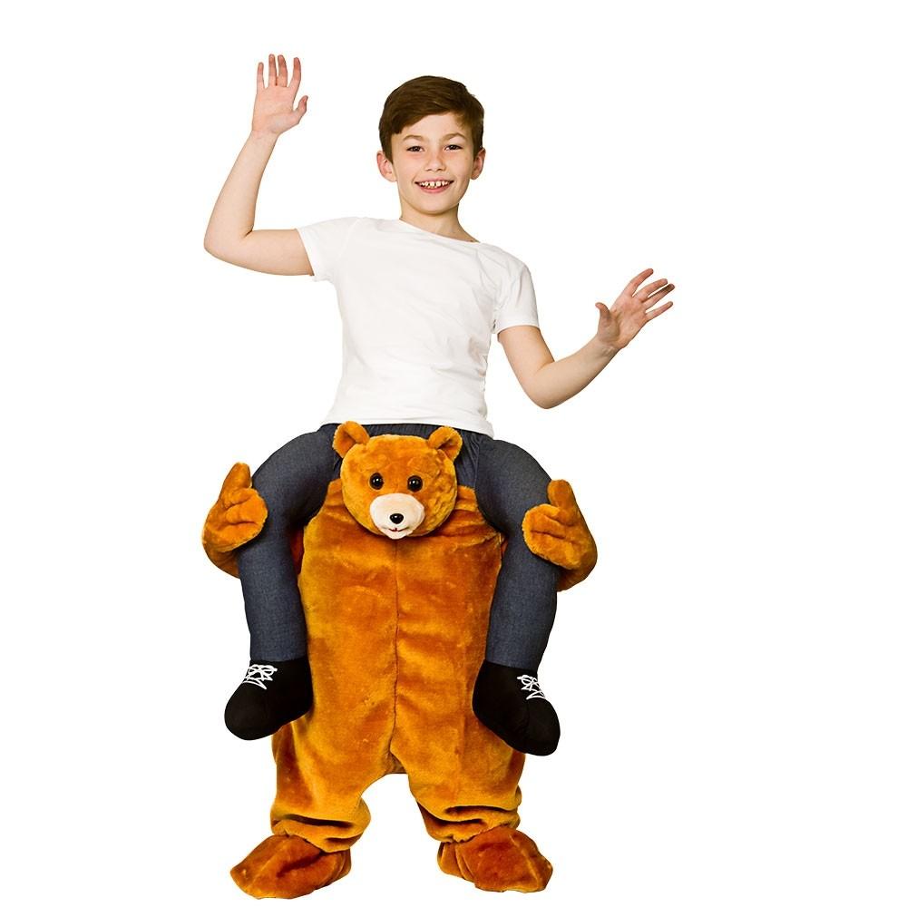 Carry Me® Teddy Bear Kids Unisex Fancy Dress Costume (8-10years)