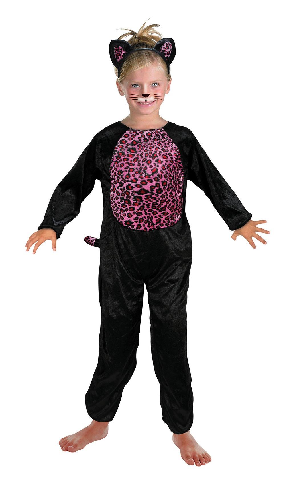Pink Cat (3-5 Years) costume Kids Fancy Dress