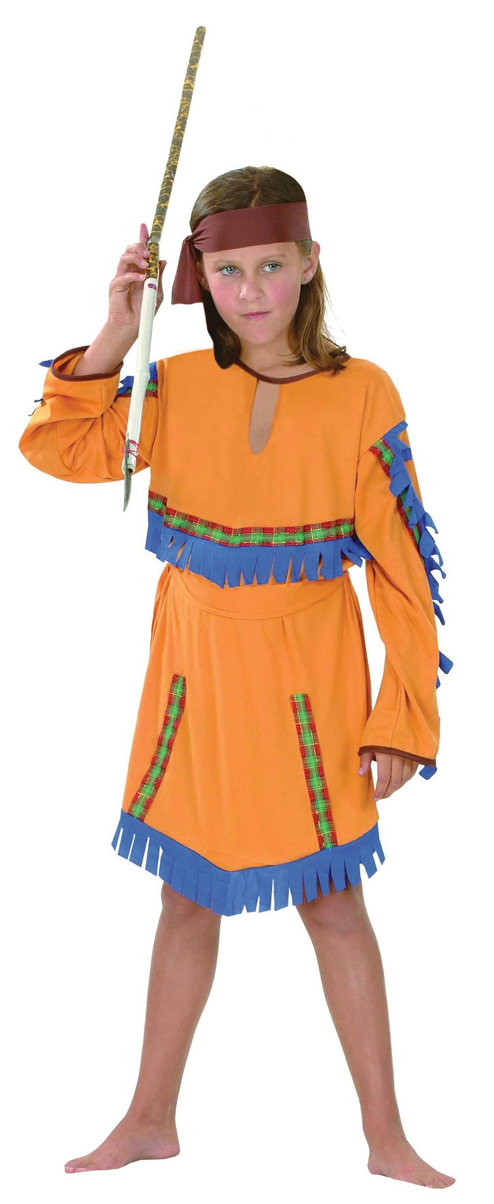 Indian Girl. Budget (M) costume Kids Fancy Dress