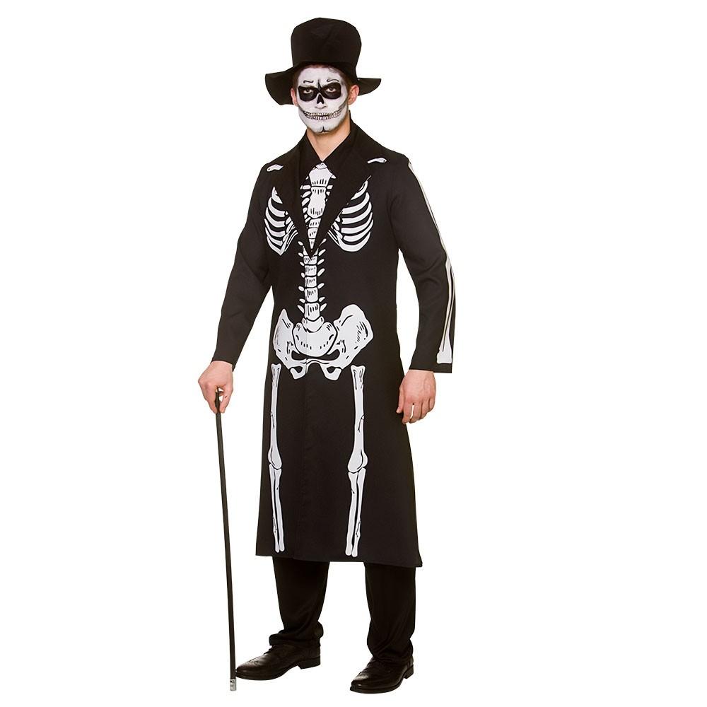 Day of The Dead Skeleton Adult Men Halloween Costume