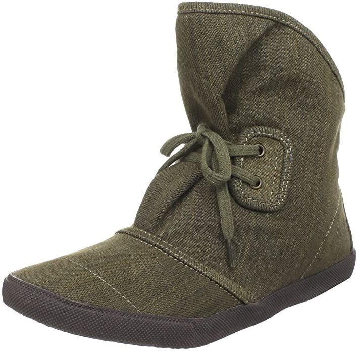 "Blowfish Harper Fabric Dark Brown Denim UK 7"" Women's Boots"