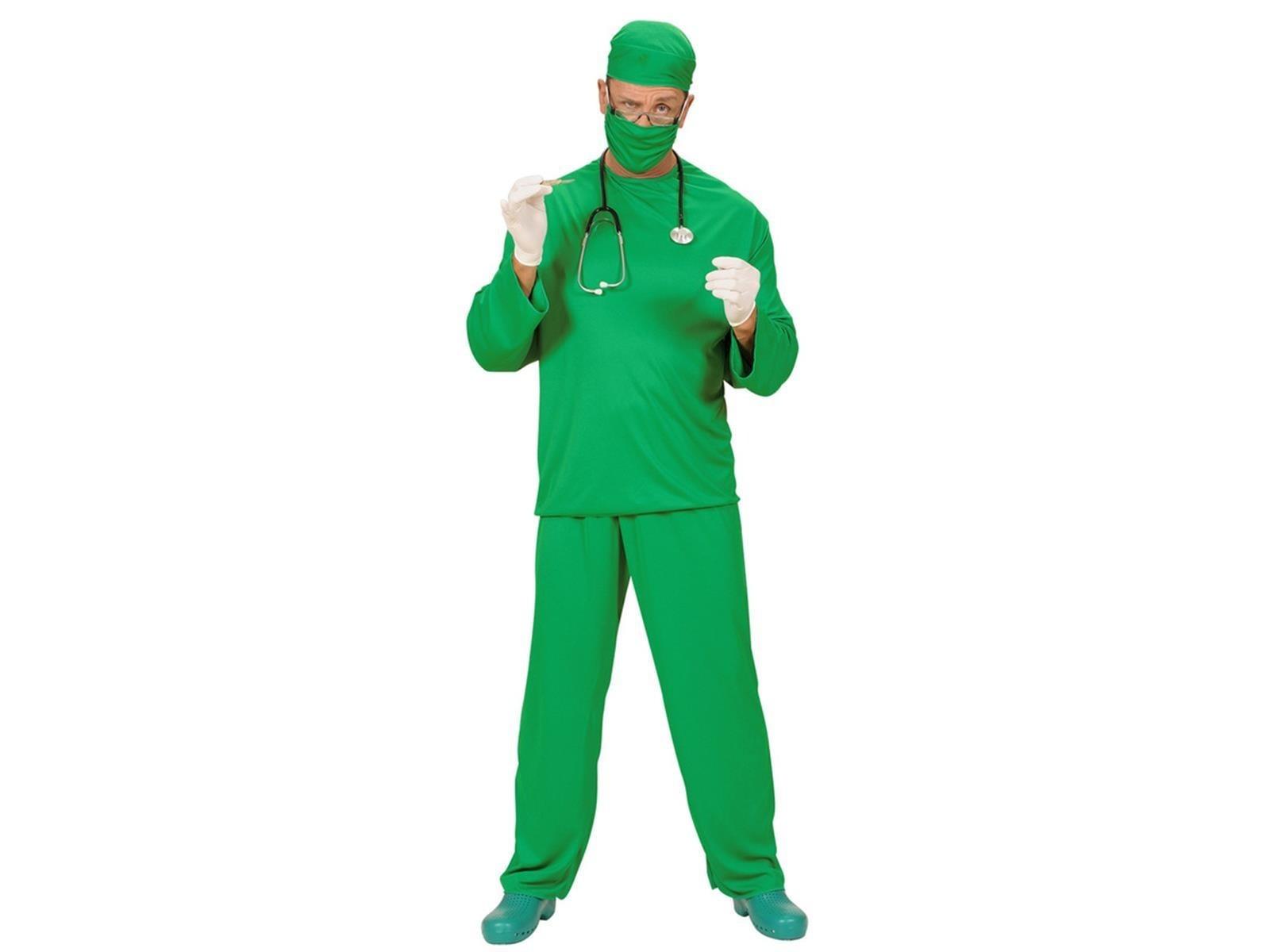Surgeon Set Green Small Adult Fancy Dress Costume