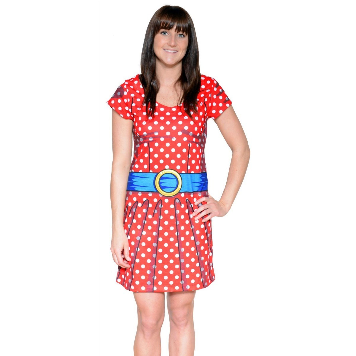 Woman Costume Ladies Cartoon Dress Realistic Fancy Dress