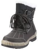 """Antonio Dolfi Snow Black UK 7"""" Polyester Boots"""