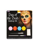Day of The Dead Makeup Kit Sugar Skull Adult Fancy Dress Accessory