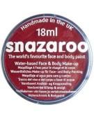 Snazaroo Water Based Face & Body Make Up For Fancy Dress - Burgundy 18ml