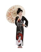 Geisha Child 128cm Chinese Childrens Fancy Dress Costume