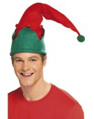Elf Hat Costume Accessories Christmas Fancy Dress