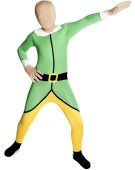 Morphsuits Elf Christmas Toyshop Worker Xmas Dress Up Large Kids Fancy Dress Costume