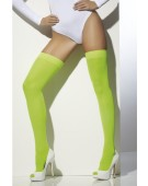 Opaque Hold-Ups Fancy Dress Woman Costume