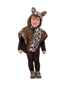 Plush Leopard Infant 98 - 110cm Animal Jungle Children's Fancy Dress Costume