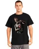 Morph Digital Dudz Beating Heart Zombie Shirt Large Fancy Dress Costume