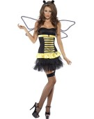 Fever Reversible Bumble Bee / Lady Bug Costume Woman Sexy Fancy Dress