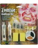 Zombie Peeling Skin Halloween Makeup Kit Fancy Dress Accessory