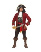 Booty Island Pirate Set Small Men's Adult Fancy Dress Costume